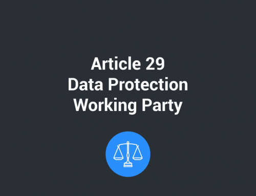 Article 29: Data Protection Working Party