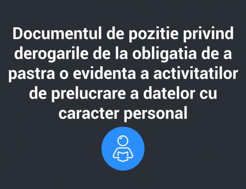Declaratia Grupului de Lucru Articolul 29 privind criptarea si impactul acesteia asupra protectiei persoanelor in ceea ce priveste prelucrarea datelor lor cu caracter personal in UE
