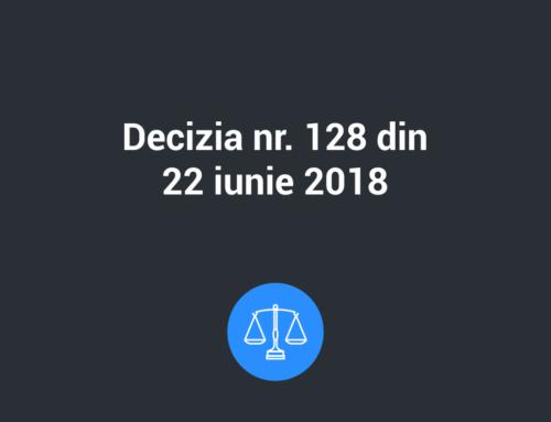 Decizia nr. 128 din 22 iunie 2018 privind aprobarea formularului tipizat al notificării de încălcare a securităţii datelor cu caracter personal în conformitate cu Regulamentul (UE) 2016/679