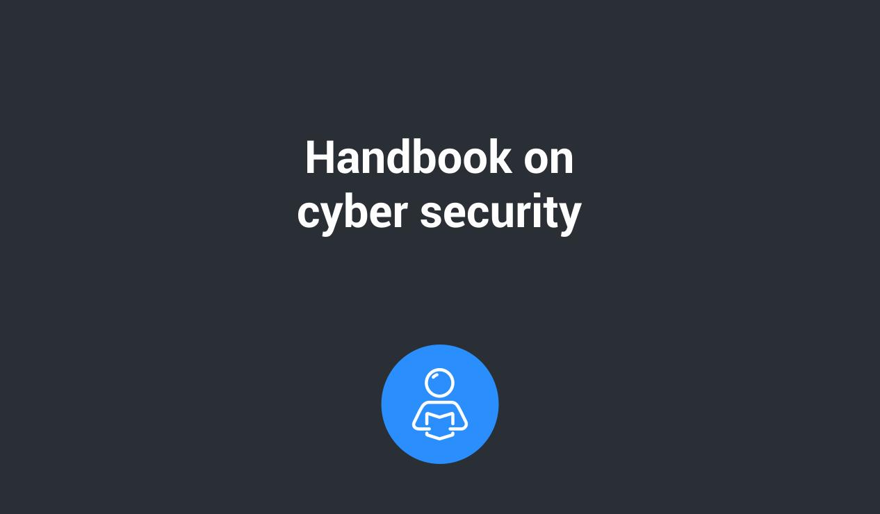 Handbook cybersecurity